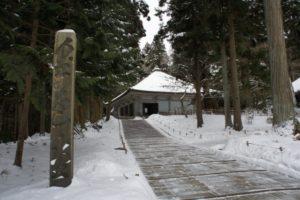 中尊寺 初詣 金色堂