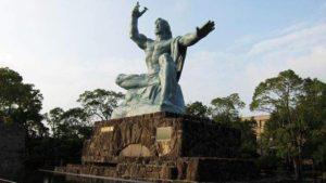 長崎平和記念公園の「平和記念像」