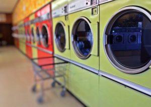 車中泊で衣類の洗濯や乾燥