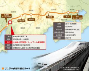 リニア中央新幹線ルート