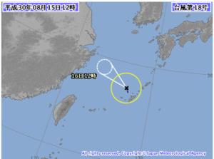 台風18号・2018