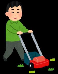 家庭用の電動芝刈り機