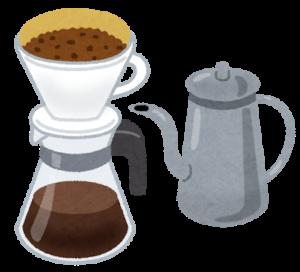 コーヒーに必要な道具