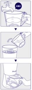 精製 水 の 作り方