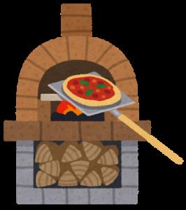 ピザを温める