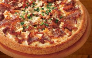 ピザカリフォルニア「炭火焼牛カルピピザ」