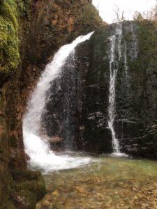 大山祇神社「不動滝」
