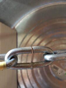 鎖を切断する