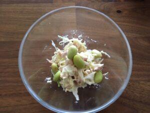 秘伝豆のツナサラダ